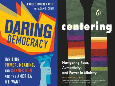 Book Covers of Daring Democracy and Centering