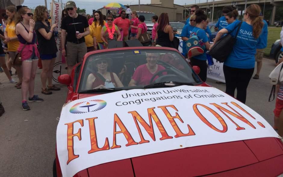 UU congregations participating in Heartland Pride Parade